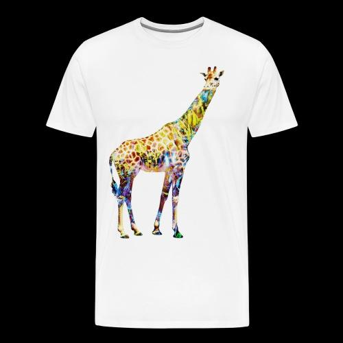 Giraffe Mens T-Shirt - Men's Premium T-Shirt
