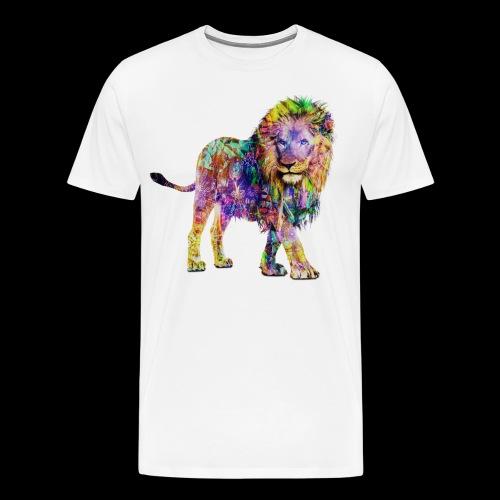 Lion Mens T-Shirt - Men's Premium T-Shirt