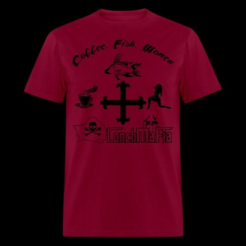 Coffee Fish Women - Men's T-Shirt