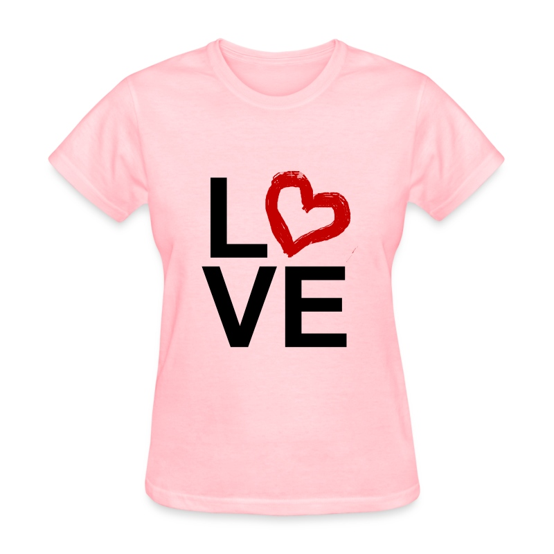 Love O Heart - Women's T-Shirt