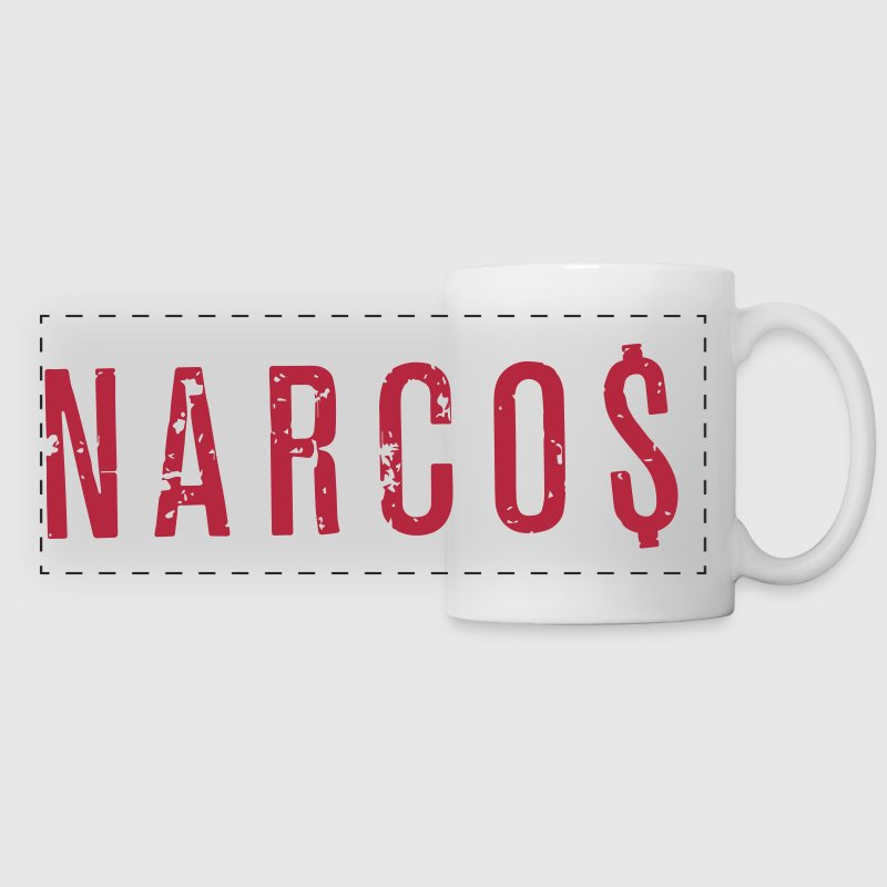 Narcos Logo Dollars Accessories - Panoramic Mug