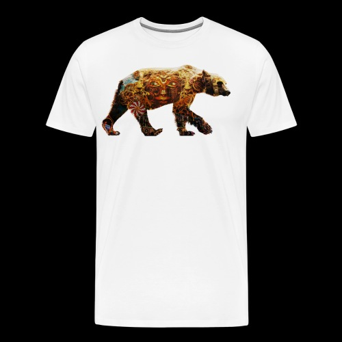 Festival Bear Mens T-Shirt - Men's Premium T-Shirt