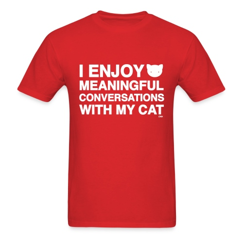 meaningful conversations unisex - Men's T-Shirt