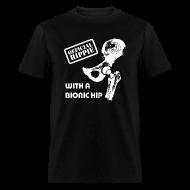 T-Shirts ~ Men's T-Shirt ~ Hippie with Bionic Hip Shirt