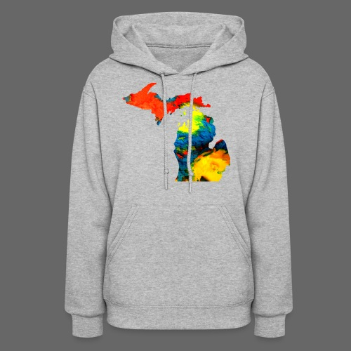 Michigan Super Man Ice Cream State - Women's Hoodie