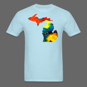 Michigan Super Man Ice Cream State - Men's T-Shirt