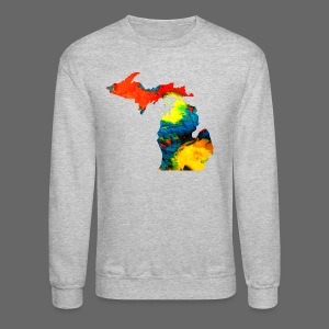 Michigan Super Man Ice Cream State - Crewneck Sweatshirt
