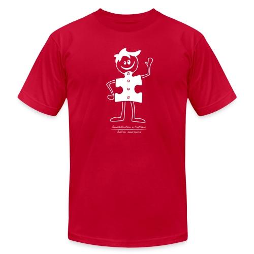 TS-M004 - Men's Fine Jersey T-Shirt