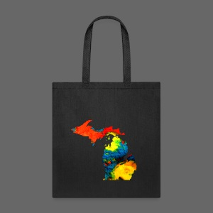 Michigan Super Man Ice Cream State - Tote Bag