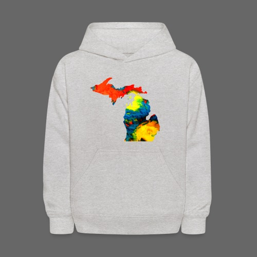 Michigan Super Man Ice Cream State - Kids' Hoodie