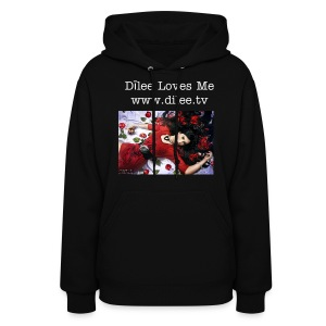 Coral Mermaid - Dīlee Loves Me www.dilee.tv  - Women's Hoodie