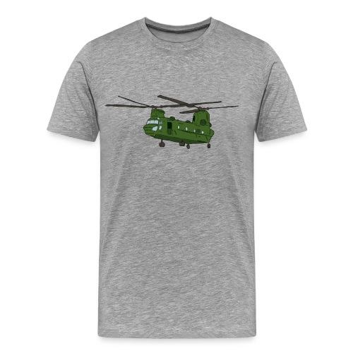 RAF Chinook. - Men's Premium T-Shirt
