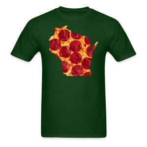 Pizza Wisconsin - Men's T-Shirt