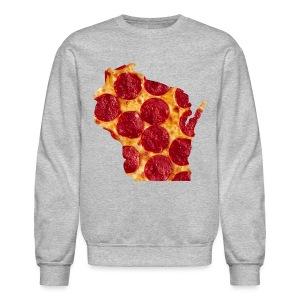 Pizza Wisconsin - Crewneck Sweatshirt