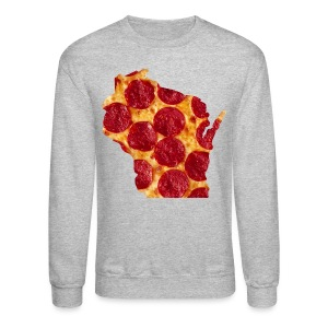 Pizza Wisconsin - Crewneck Sweatshirt