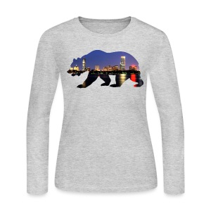 Bruin Skyline - Women's Long Sleeve Jersey T-Shirt