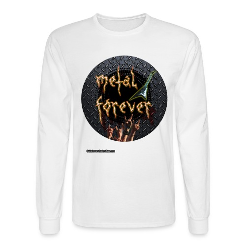 Metal Forever - long sleeve - Men's Long Sleeve T-Shirt