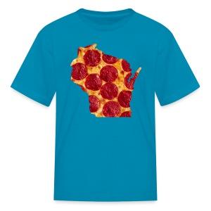 Pizza Wisconsin - Kids' T-Shirt