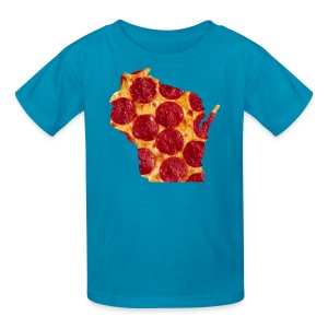 Pizza Wisconsin - Kids' T-Shirt