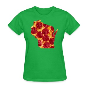 Pizza Wisconsin - Women's T-Shirt