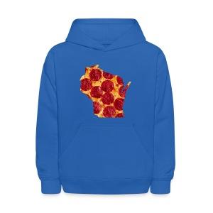 Pizza Wisconsin - Kids' Hoodie