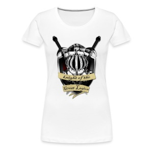Knight Of The Great Legion T-Shirt Women - Women's Premium T-Shirt