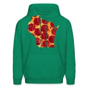 Pizza Wisconsin - Men's Hoodie