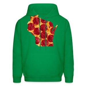 Pizza Wisconsin - Men's Hoodie