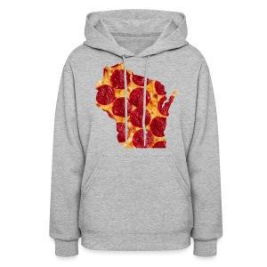 Pizza Wisconsin - Women's Hoodie