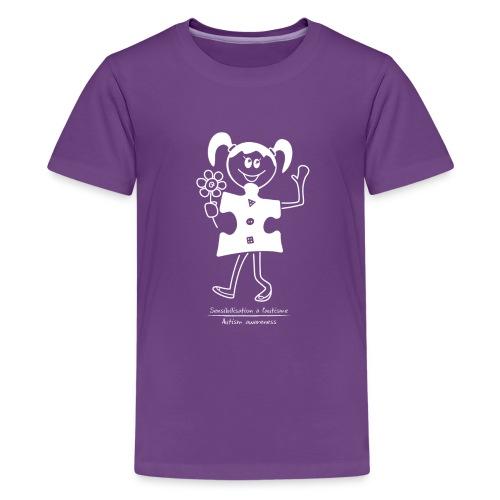 TS-K005 - T-shirt premium pour ados