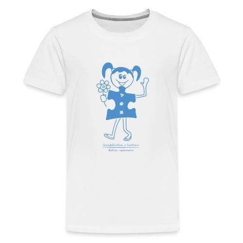 TS-K009 - T-shirt premium pour ados
