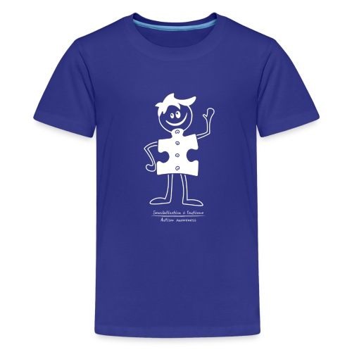 TS-K002 - T-shirt premium pour ados