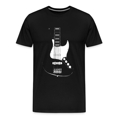 The Jazz Master 5 string - Men's Premium T-Shirt