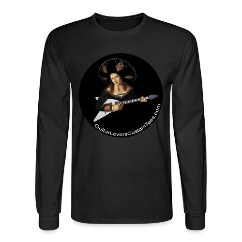 Big Hat Guitar - long sleeve - Men's Long Sleeve T-Shirt
