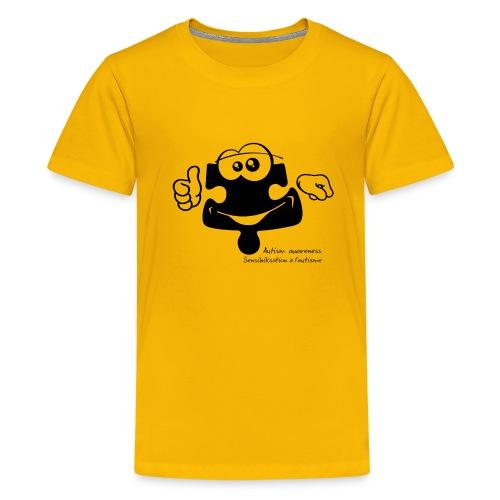 TS-K010 - T-shirt premium pour ados