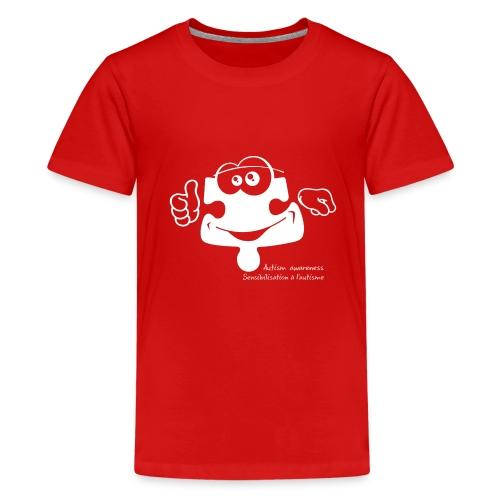 TS-K003 - T-shirt premium pour ados