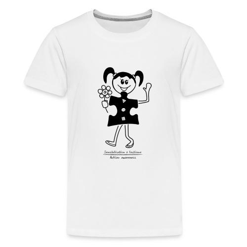 TS-K012 - T-shirt premium pour ados