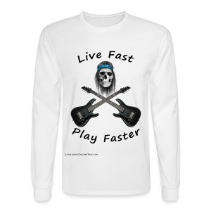 Live Fast Play Faster - long sleeve - Men's Long Sleeve T-Shirt