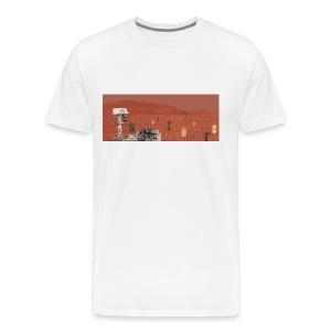 Rover and graveyard - Men's Premium T-Shirt