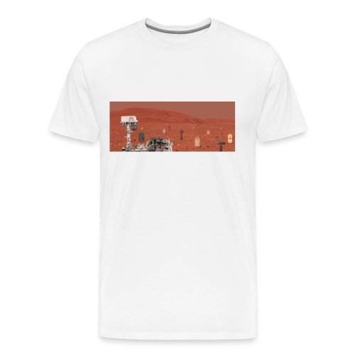 Rover and graveyard - Men's Premium T-Shirt