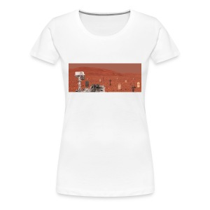 Rover and graveyard - Women's Premium T-Shirt
