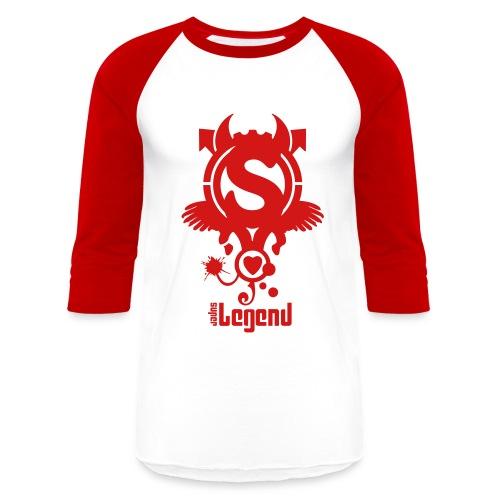 SUPERLEGEND MAN - front print - s/xxl - Baseball T-Shirt