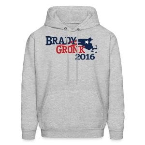 Vote Brady Gronk 2016 - Men's Hoodie