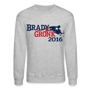 Vote Brady Gronk 2016 - Crewneck Sweatshirt