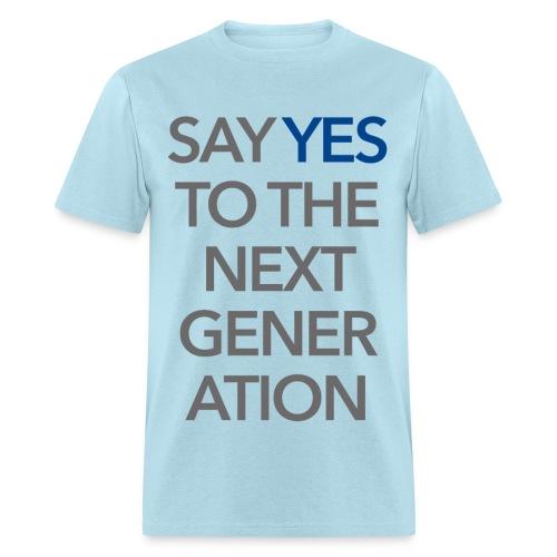 2015 Say Yes GHKids Theme - Lt. Blue - Men's T-Shirt