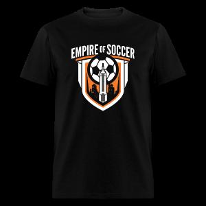 EoS: The Shield - Men's T-Shirt, Black - Men's T-Shirt