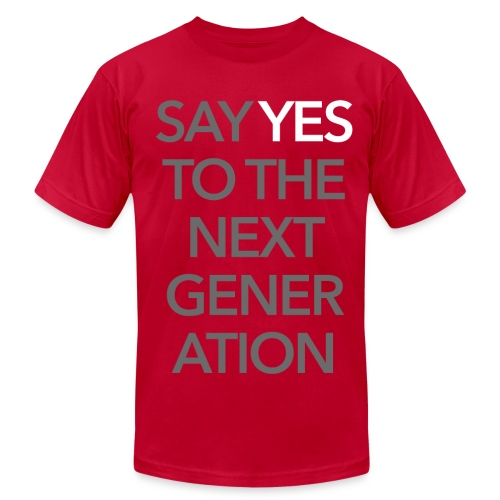 2015 Say Yes GHKids Theme - Pink - Men's Fine Jersey T-Shirt