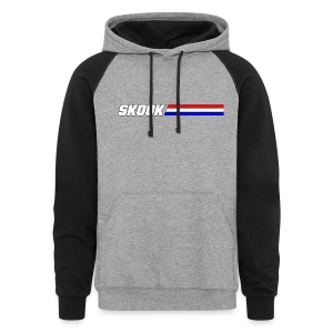 Skook - Red White and Blue - Colorblock Hoodie