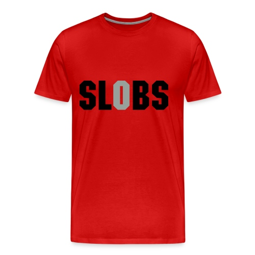 Slobs Shirt with silver glitz O - Men's Premium T-Shirt