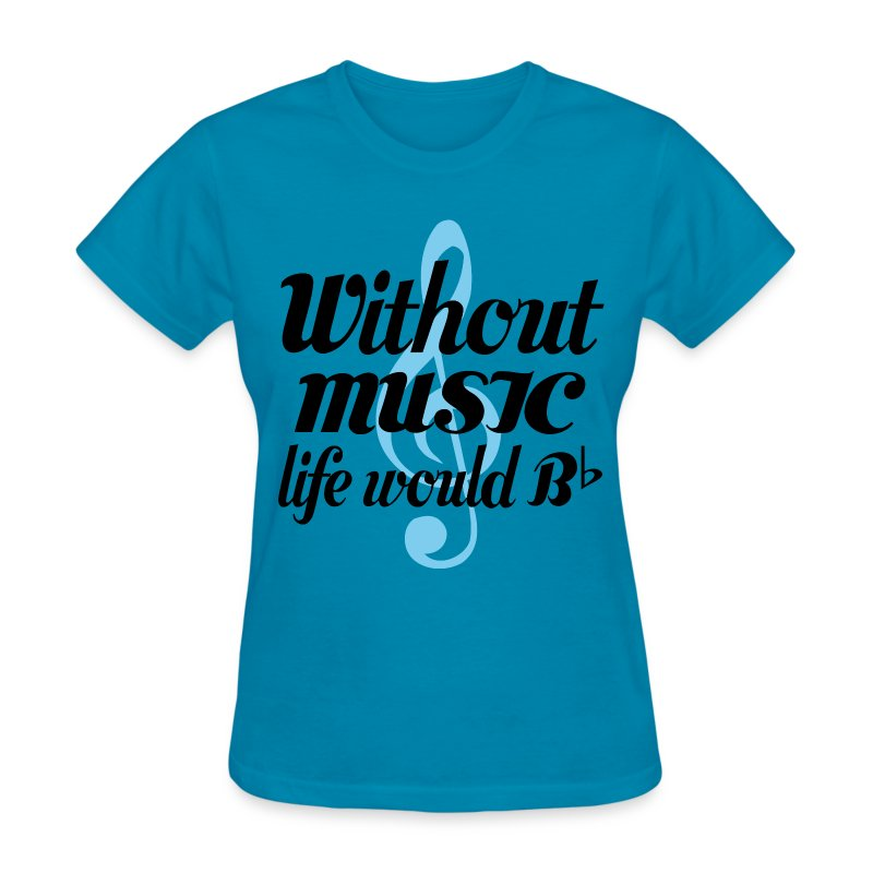 Funny music lover quote t shirt spreadshirt Music shirt design ideas